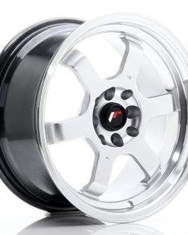 JR Wheels JR12 16×8 ET22 4×100/108 Hyper Silver w/Machined Lip