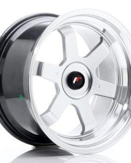 JR Wheels JR12 17×9 ET25 BLANK Hyper Silver w/Machined Lip