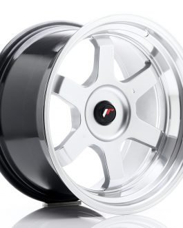 JR Wheels JR12 18×10 ET20-22 BLANK Hyper Silver w/Machined Lip