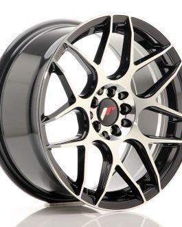 JR Wheels JR18 17×8 ET35 5×100/114 Gloss Black Machined Face