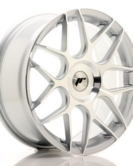 JR Wheels JR18 18×7,5 ET35-40 BLANK Silver Machined Face
