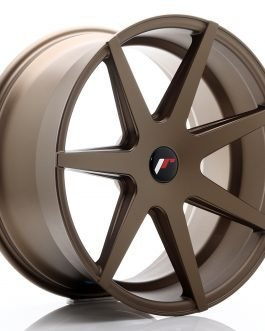 JR Wheels JR20 20×10 ET20-40 5H BLANK Matt Bronze