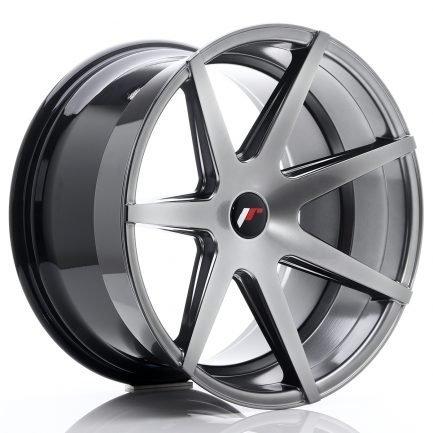 JAPAN RACING JR Wheels JR20 20x11 ET20-30 5H BLANK Hyper Black 11.00x20