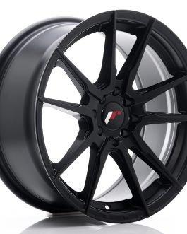JR Wheels JR21 17×8 ET35 5×100/114 Matt Black