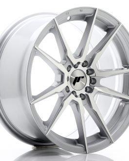 JR Wheels JR21 17×8 ET35 5×100/114 Silver Machined Face