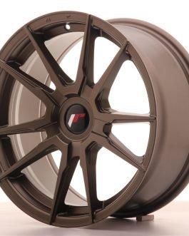 JR Wheels JR21 17×8 ET35 BLANK Matt Bronze
