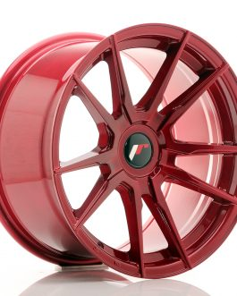 JR Wheels JR21 17×9 ET25-35 BLANK Platinum Red