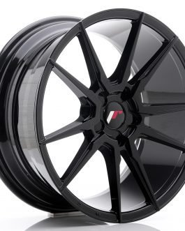 JR Wheels JR21 18×8,5 ET30-40 5H BLANK Glossy Black