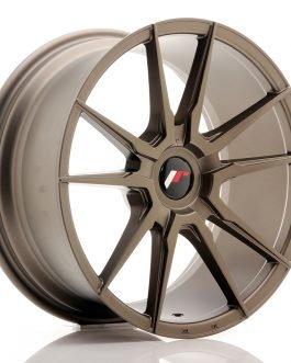 JR Wheels JR21 18×8,5 ET20-40 Blank Matt Bronze