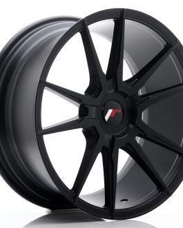 JR Wheels JR21 18×8,5 ET30-40 BLANK Matt Black