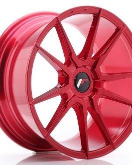 JR Wheels JR21 18×8,5 ET30-40 BLANK Platinum Red