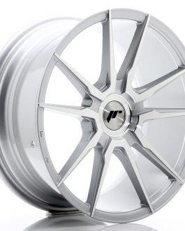 JR Wheels JR21 18×8,5 ET30-40 BLANK Silver Machined Face
