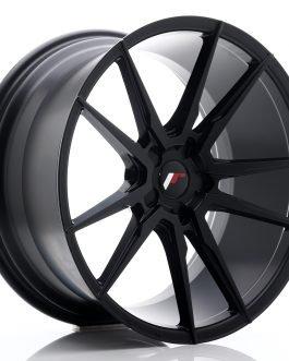 JR Wheels JR21 20×10 ET20-40 5H BLANK Matt Black