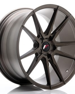 JR Wheels JR21 20×10 ET20-40 5H BLANK Matt Bronze