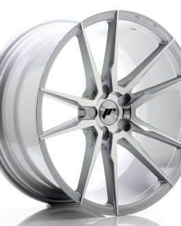 JR Wheels JR21 20×10 ET40 5H BLANK Silver Machined Face