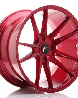 JR Wheels JR21 20×11 ET20-30 5H BLANK Platinum Red