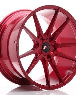 JR Wheels JR21 20×11 ET30-50 5H BLANK Platinum Red