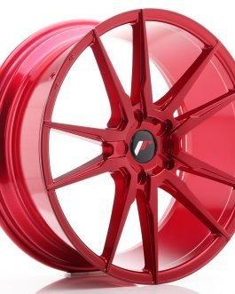 JR Wheels JR21 20×8,5 ET20-40 5H BLANK Platinum Red