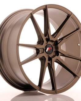 JR Wheels JR21 21×10 ET15-48 5H BLANK Matt Bronze