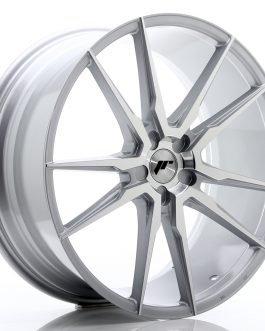 JR Wheels JR21 22×9 ET30-45 5H BLANK Silver Machined Face