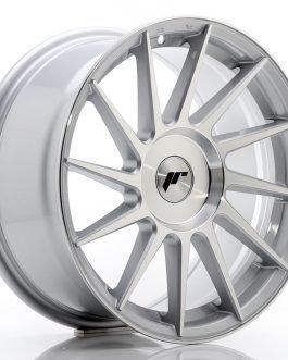 JR Wheels JR22 17×8 ET25-35 BLANK Silver Machined Face
