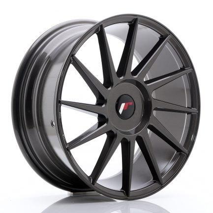 JAPAN RACING JR Wheels JR22 18x7,5 ET35-42 BLANK Hyper Gray 7.50x18