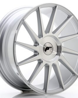 JR Wheels JR22 18×7,5 ET35-42 BLANK Silver Machined Face