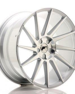 JR Wheels JR22 20×10 ET20-40 5H BLANK Silver Machined Face