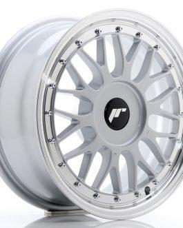 JR Wheels JR23 16×7 ET20-45 BLANK Hyper Silver w/Machined Lip