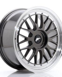 JR Wheels JR23 18×8 ET30-45 BLANK Hyper Gray w/Machined Lip