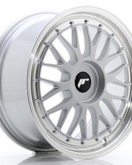 JR Wheels JR23 18×8 ET30-45 BLANK Hyper Silver w/Machined Lip