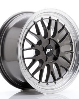 JR Wheels JR23 18×8,5 ET25-48 5H BLANK Hyper Gray w/Machined Lip