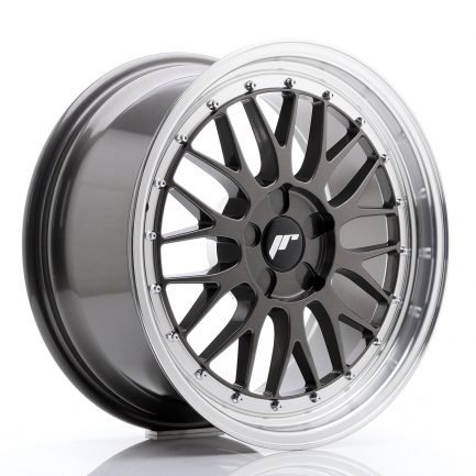 JAPAN RACING JR Wheels JR23 18x8,5 ET25-48 5H BLANK Hyper Gray w/Machined Lip 8.50x18