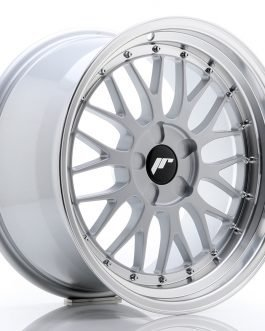 JR Wheels JR23 18×9,5 ET25-48 5H BLANK Hyper Silver w/Machined Lip