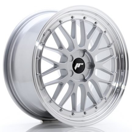 JAPAN RACING JR Wheels JR23 19x8,5 ET20-50 5H BLANK Hyper Silver w/Machined Lip 8.50x19