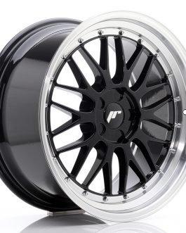 JR Wheels JR23 19×9,5 ET20-48 5H BLANK Gloss Black w/Machined Lip