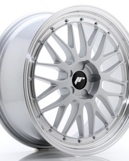 JR Wheels JR23 20×8,5 ET20-45 5H BLANK Hyper Silver w/Machined Lip