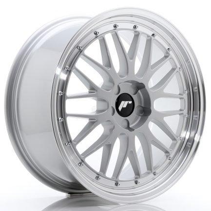 JAPAN RACING JR Wheels JR23 20x9 ET20-50 5H BLANK Hyper Silver w/Machined Lip 9.00x20