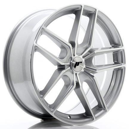 JAPAN RACING JR Wheels JR25 20x8,5 ET20-40 5H BLANK Silver Machined Face 8.50x20