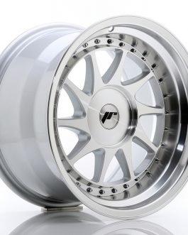 JR Wheels JR26 17×10 ET20-25 BLANK Silver Machined Face