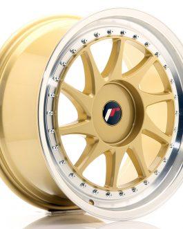 JR Wheels JR26 18×8,5 ET20-40 BLANK Gold w/Machined Lip