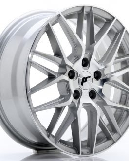 JR Wheels JR28 17×7 ET40 5×112 Silver Machined Face