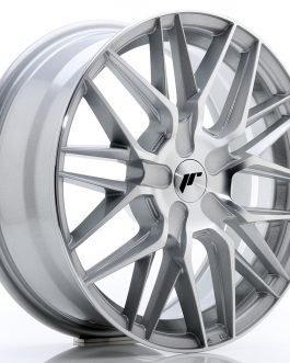 JR Wheels JR28 17×7 ET20-45 BLANK Silver Machined Face