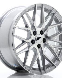 JR Wheels JR28 17×8 ET40 5×114,3 Silver Machined Face