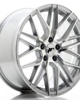 JR Wheels JR28 18×8,5 ET40 5×120 Silver Machined Face