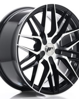 JR Wheels JR28 18×8,5 ET20-40 5H BLANK Gloss Black Machined Face