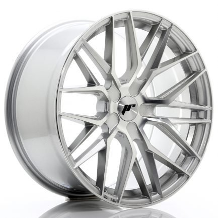JAPAN RACING JR Wheels JR28 19x9,5 ET20-40 5H BLANK Silver Machined Face 9.50x19