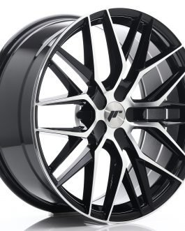 JR Wheels JR28 20×8,5 ET20-40 5H BLANK Gloss Black Machined Face
