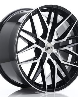 JR Wheels JR28 21×10,5 ET15-55 5H BLANK Gloss Black Machined Face