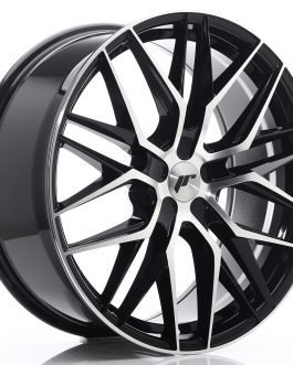 JR Wheels JR28 21×9 ET15-45 5H BLANK Gloss Black Machined Face